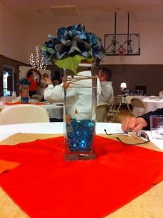 I  like the Fish centerpiece wedding with out the flowers though.