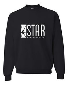 88d3c2c196 Small Black Adult Star Labs Sweatshirt Crewneck Go All Out Screenprinting  http   www