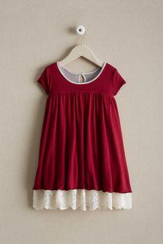 03e9c8bea47ca Girls Reversible Twinkle Lace Dress - alt2 Chasing Fireflies