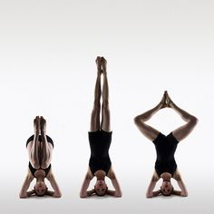 i can do a regular headstand but need to work on some variations...  Headstand by Philip Payne, via Flickr