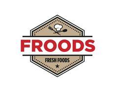 Logo Design voor Froods Logo Design, Graphic Design, Ps, Logos, Logo, Visual Communication, Photo Manipulation