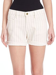 FRAME Le Cut Off Shorts - Cypress - Size