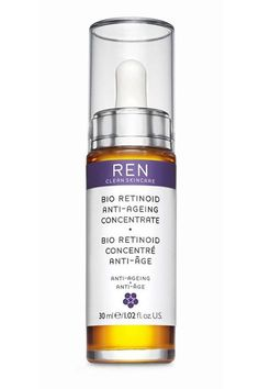 This paraben-free, natural serum is ideal for sensitive skin types who want the results of a high potency retinol but without the irritation. This is actually a blend of three different types of retinol that work together to not only firm, but brighten sun spots and hyperpigmentation. It also includes rose seed oil that will soothe redness and Omega 6 and 7 that nourish and replenish moisture in the skin. Ren Bio-Retinoid Anti-Aging Concentrate, $60; bluemercury.com - ELLE.com