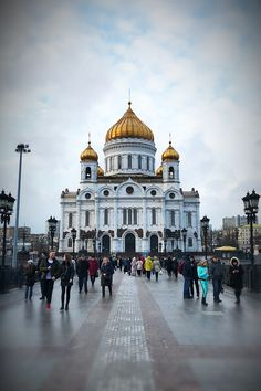 Cathedral of Christ the Savior. #Moscow #Cathedral of Christ the Savior #Russia