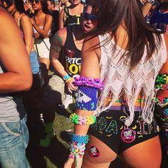 @ravebooty for @Cassidy Cohen #girlswhorave #rave #ravebooty #kandi #kandikids #veldfest #canada #PLUR #dadalife