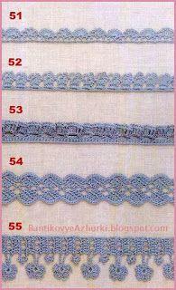 crochet home: crochet edges Crochet Books, Crochet Home, Thread Crochet, Crochet Stitches, Knit Crochet, Crochet Edgings, Crochet Border Patterns, Crochet Chart, Pintura Country