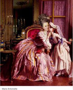 María Antonieta resulto ser una buena madre.