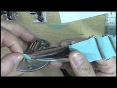 Косая бейка. Приспособления для швейных машин. - YouTube