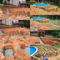 Deck Framing and Garage footings