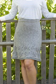 Ravelry: Curtis Skirt pattern by Julia Farwell-Clay
