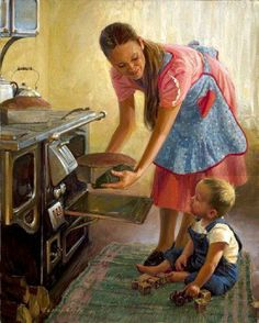 "~ ""Fresh Bread"" ~ By Artist Loren Entz ~ ♥ lorenentz.com via pinterest  https://www.facebook.com/photo.php?fbid=452109921532158=a.352643578145460.81730.352631861479965=1_t=notify_me"