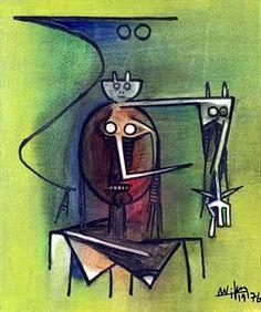Composition (1976) Wifredo Lam