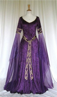 Medieval wedding gown x