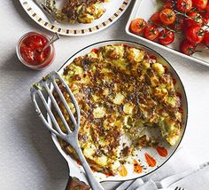 Potato, pancetta, eggs and cheese combine in this classic brunch recipe, perfectly crispy on the outside and fluffy on the inside