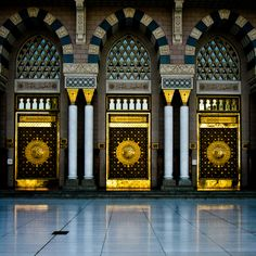 Three Gates of Masjid Nabawi