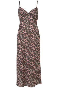 90's Grunge Flower Slip dress. Top Shop!
