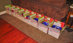 Missionary Box Moms : Missionary 12 Days of Christmas Box - First Year