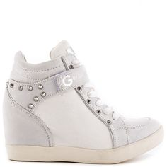 G by Guess Black Pop Star Wedge Sneakers