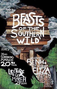 Beast of the Southern Wild by Jonathan Key, via Behance
