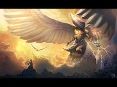 """Isaiah """"Above it stood the seraphims; each one had six wings; with twain he covered his face, and with twain he covered his feet, and with twain he did fly."""" The seraphim who were … Dungeons And Dragons, Seraph Angel, Isaiah 6, Prophet Isaiah, Psalm 91, Pyramids Egypt, Religion, Angels And Demons, Fallen Angels"""