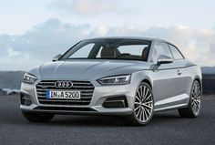 Audi A5 Coupe - athletic, sporty and elegant