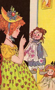 Raggedy Ann Stories by Johnny Gruelle (1961).