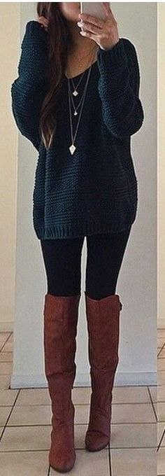 Fall Outfits ideas for Winter fashion 2019 my love fall fashion women's clothing jeans + tops how to wear jeans outfits going fashion eve dress outfits Mode Outfits, Casual Outfits, Fashion Outfits, Womens Fashion, Fashion Trends, Fashion Clothes, Dress Outfits, Legging Outfits, Trending Fashion