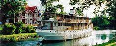 Båttur på Göta Kanal   Boat trips at Göta Canal