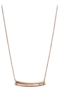 Fossil Vintage Fashion JF01726791. Rose gold IP 316l steel chain necklace. Rose gold IP 316l steel and acetate pendant. #fossil #normcore
