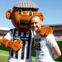 James McAvoy at the 30th Jock Stein Charity Football Match