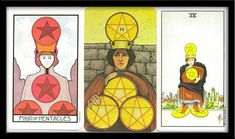 Some Keywords Fitting for Four of Pentacles Tarot Card Meanings: Gain Pride Tight Stingy Closed Limited Isolation Hoarding Insecurity Blockages Immaturity Constipation Shortsighted Incompletion Self-interested True Tarot, Personality Characteristics, Tarot Card Meanings, Earth Signs, Pentacle, Tarot Cards, Magick, Meant To Be, Baseball Cards