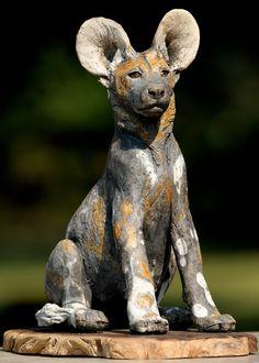 Safarious - Clay animal Sculptures - By Nick Mackman
