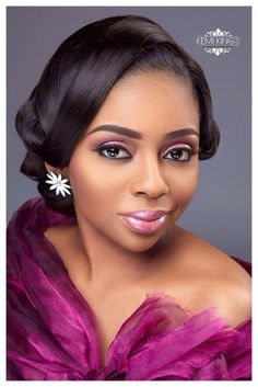 Bridal Makeup Inspiration by Kemi Kings LoveweddingsNG 2