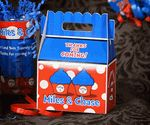 Dr. Seuss Thing 1 & Thing 2 Twins Personalized FILLED Gable Box Favor