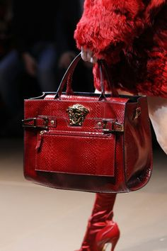 Versace Autumn/Winter 2014 Ready-To-Wear The wardrobes of designerhandbags… famous stars and wealthy women are full of different styles of Louis Vuitton bags. Fall Handbags, Purses And Handbags, Handbags Online, Beautiful Handbags, Beautiful Bags, Louis Vuitton Taschen, Dior, Sacs Design, Vuitton Bag