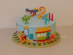 Dinosaur Train by Cake O'Clock, via Flickr
