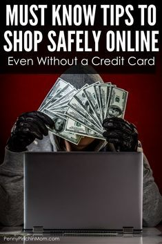 We use credit and debit cards for many purchase. Read tips on How to shop safely online without a credit card -- better to be safe. Money Saving Tips, Saving Ideas, Good Student, Get Out Of Debt, Managing Your Money, Frugal Tips, Credit Cards, Way To Make Money, Personal Finance