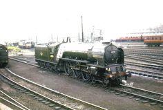 60126 'Sir Vincent Raven' at York Sheds Diesel Locomotive, Steam Locomotive, Steam Trains Uk, Disused Stations, Steam Railway, Train Engines, British Rail, Steam Engine, Diesel Engine