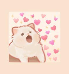 Cute Little Drawings, Cute Kawaii Drawings, Cute Animal Drawings, Kawaii Art, Kawaii Doodles, Cute Doodles, Cute Images, Cute Photos, Cute Kawaii Animals