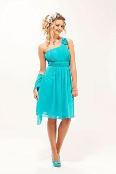 Short Turquoise Bridesmaid Dresses   Rose Short Turquoise Bridesmaid Dress - Era Boutique