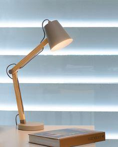 White, grey, and taupe. Tripod Table Lamp, Table Lamp Base, Bedside Table Lamps, Table Lamp Sets, Lamp Bases, Desk Lamp, Energy Efficient Lighting, Bureau Design, Dar Lighting