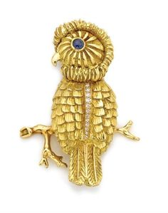 Geologists have confirmed that the quake beneath 5th Ave the day this brooch came out was, in fact, the Tiffany founders spinning in their graves.