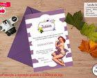 Convite Digital de Chá de Lingerie
