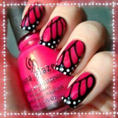 Butterfly Wing Nails!
