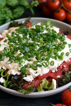 Salad Recipes, Healthy Recipes, Avocado Egg Salad, Side Salad, Feta, Hamburger, Grilling, Lunch Box, Snacks