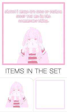"""o3o"" by kawaii-baby-heads ❤ liked on Polyvore featuring art"