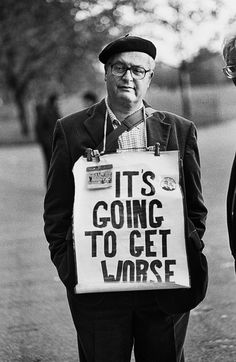 Soapbox superstars: 35 years at Speakers' Corner – in pictures Bob Rogers, 2001
