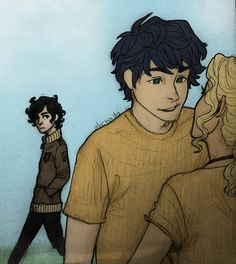 I dont if this is nico or leo I will understand if it is.nico because nico has a crush on annabeth<<<< *slaps face* duh that's nico!!<---- have you not read house of hades!!???