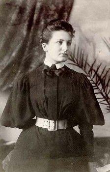 Alma Mahler-Werfel, youth photo