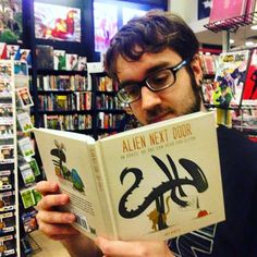Bobby's pick of the week is Alien Next Door from Titan Books by Joey Spiotto. #ndcomics #ndcciii #Pittsburgh